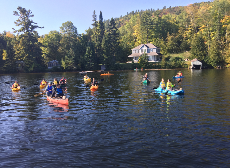 Reel, Kayaks and Real Heroes – Camp de kayak et pêche (Date limite : 22 juillet 2018)
